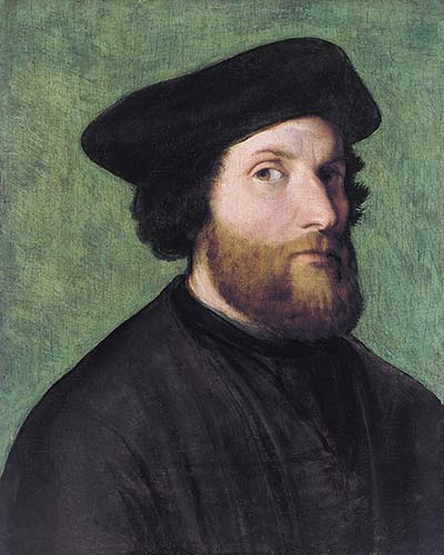 autoritratto di Lorenzo Lotto