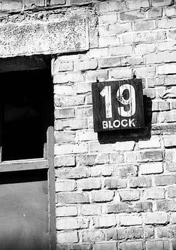 Targhetta con numero Block